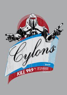 Cylons Huminfectant Spray  Battlestar Galactica  BSG