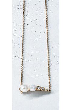 リッチな胸元をつくるデザインダイヤモンドMarisol ONLINE|女っぷり上々!40代をもっとキレイに。