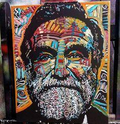 Reality What A Concept  Portrait of Robin Williams  Oil on canvas  16x20  #robinwilliams #mattpecson #beautiful #artsy #art #artist #instaart #abstract #gallery #portrait #florida #sarasota #popart #music #decor #shop #love #painting #bradenton #etsy #contemporaryart #expressionism #urban #boho #modern #custom  www.mattpecson.com http://ift.tt/WdKrrc http://ift.tt/1GasVXK by mattpecson