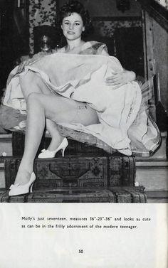 Molly Fleming - Beautiful Britons No 56 (June 1960)