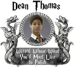 Who do you think kisses like a dementor at Hogwarts? Dean Thomas, Harry Potter Characters, Hogwarts, Fandoms, Books, Movie Posters, Kisses, Students, Awesome
