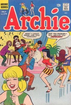 I loved the Archie comic books, and the related Betty and Veronica comics.