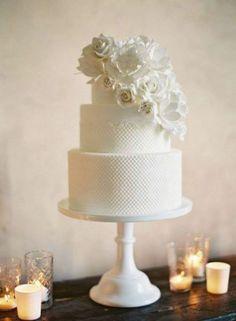 17 propostas de bolos de casamento românticos! Image: 3