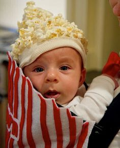 popcorn baby Diy Halloween Costumes for Kids