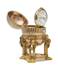 The Third Imperial Easter Egg by Carl Fabergé at Wartski