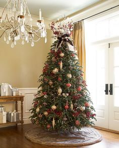 54 Magical Christmas Trees @BalsamHill That Are Utterly Breathtaking.  Unique Christmas TreesChristmas Tree DecorationsMagical ...