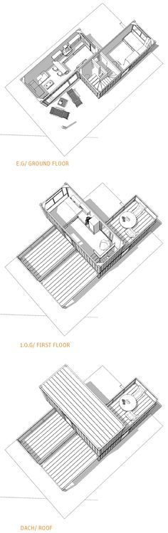 MINIMAL CONTAINER HOUSE 3x20ft > 2x20ft > Experts in container architecture