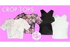 Sin duda alguna la prenda más #Hot de este verano son los Crop Tops, ven a visitarnos a @PlazaSatelite o entra a www.pinkett.com.mx y encuentra el Crop perfecto para ti!
