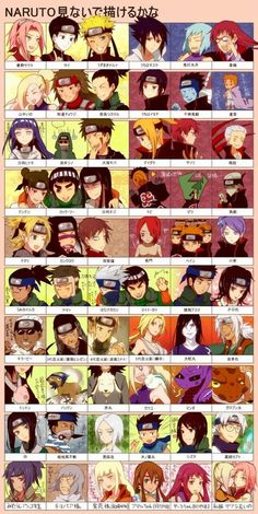 NARUTO I'm so proud of myself I could name all of them!!! :D