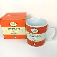 Egg Mug, Canadian Beer, Ken Kesey, Nineteen Eighty Four, Davids Tea, Flower Tea, Cool Mugs, Stoneware Mugs, Penguin Books