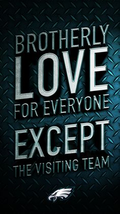 Can you feel it? #Football season is here and there's an entire city of diverse people coming together to celebrate one team, and one team only. The Philadelphia Eagles. Join your fellow fans with this #Verizon Wireless #NFL wallpaper for your smartphone, and start feeling the Brotherly, and Sisterly love.