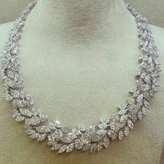 unique diamond necklace