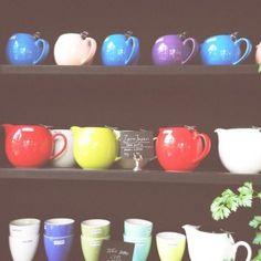 Zero Japan teapots at Peter's Yard Cafe in Edinburgh