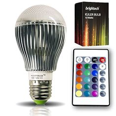 The Original Kuler Bulb™ - 10-Watt Color Changing L…