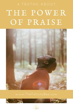 Praise & Worship is not the warmup act to the Pastor's message. Let's discover Four Truths to The Power of Praise and how to activate those truths in your life.