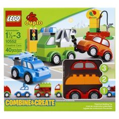 LEGO duplo Creative Cars...I have always loved LEGOs and now my son is old enough to have them. This set is amazing! We can play with these for hours :)