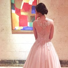 """""""Love the back detail of 's dress for her cotillion designed by Make Up by: Hair by:…"""" Star Magic Ball, Back Details, Make Up, Stars, Formal Dresses, Instagram Posts, Hair, Notes, Design"""