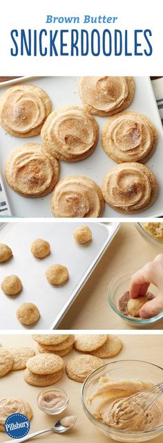 Brown Butter Snickerdoodles: The lesson: We should've been putting brown butter and snickerdoodles together a long time ago!