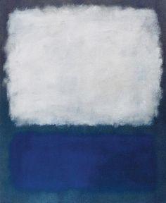 Mark Rothko: Blue Grey Painting: 1962 one of my favorite artist!