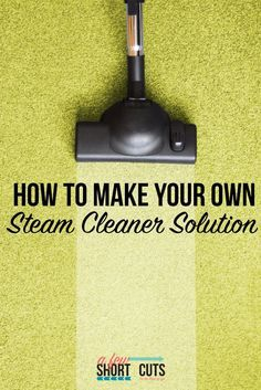 1000+ ideas about Steam Cleaner Solution on Pinterest ...