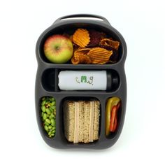 I know these are marketed for kids lunches but adults take lunch in their backpacks too! I want one!