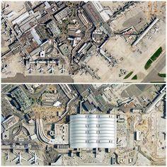 Heathrow Terminal before after! Heathrow Airport, England Uk, International Airport, Taxi, City Photo, London, World, Airports, Big Ben London