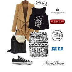 """""""University Style"""" by narminq on Polyvore"""