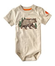 Keep your little outdoorsy baby comfy in this bodysuit that features a breathable cotton blend and a shoulder placket for quick changes when the going gets rough.