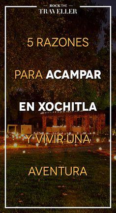 Si quieres respirar aire puro y rodearte de #naturaleza, no te pierdas estos lugares donde hacer una #acampada en #Xochitla #México.
