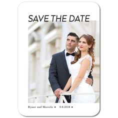 Devoted Union Save The  Dates  #wedding invitations  #save the date  #customize invitations  #diy invitations