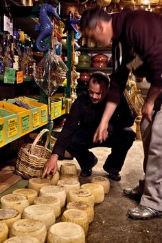 Cheese from Naxos, Greece... My Favorite Cheese Shop in Greece!!!!
