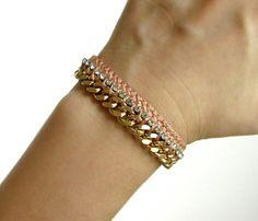 Mahogany Friendship Bracelet