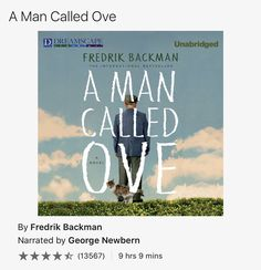 Enjoying this audiobook by Fredrik Backman, read to me by my friend @georgenewbern