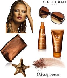 """""""Self Tan for Face and Body By Oriflame"""" by oribeauty-cosmeticos on Polyvore"""