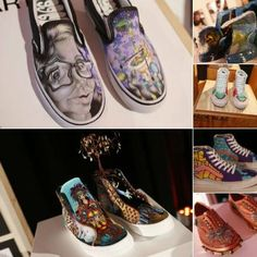 """Students #Design Vans #Shoes to Improve Their High School's Art Department """"Skate brand launches Vans Custom Culture, a competition that promotes creativity amongst the youth via inspired kicks"""""""