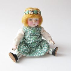 Buttons and Bows Googly Doll Dottie Dollie ...