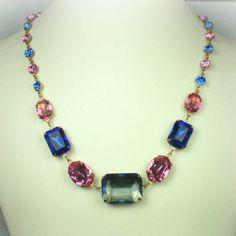Catherine Parr Sapphire Rose Necklace