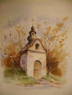 Countryside, Polish, Painting, Vitreous Enamel, Painting Art, Paintings, Painted Canvas, Nail, Drawings