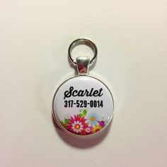 PERSONALIZED+DOG+ID+tagphone+number+pet+by+AnnmarieJewelryTree