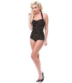 New Vintage Retro Swimsuits, Bathing Suits & Swimwear for Sale