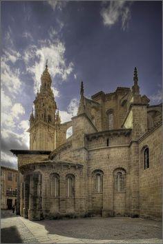 Catedral de Santo Domingo de la Calzada, en La Rioja, España.