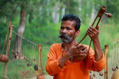 Ektara | A single string musical instrument.