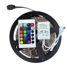 3528 SMD No-Waterproof RGB LED Strip Light DC 12V 5 meters 60led/m LED Flexible Light Strip with remote controller free shipping #electronicsprojects #electronicsdiy #electronicsgadgets #electronicsdisplay #electronicscircuit #electronicsengineering #electronicsdesign #electronicsorganization #electronicsworkbench #electronicsfor men #electronicshacks #electronicaelectronics #electronicsworkshop #appleelectronics #coolelectronics