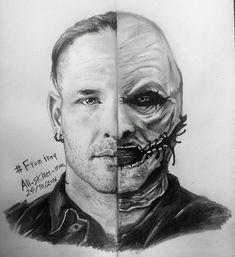 Amazing drawing #coreytaylor #cmft #8 #slipknot #thegraychapter