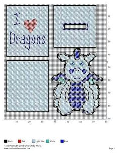 TBC CUTE DRAGON (this is basically webkinz whimsey dragon done in blue) 2/2