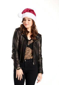 Hailee Steinfeld -- Christmas mischief . . .