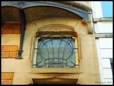 Architecture in Brussels Paul Saintenoy  Hôtel particulier d'inspiration Art Nouveau, 1900  34, Rue du Taciturne, 1000 Bruxelles