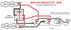 Inner or outer coil split wiring diagram Guitars and
