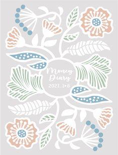 Orie Kawamura【Flower money diary】#illust #testile #design #花 #botanical #flower #イラスト #北欧デザイン #北欧イラスト #テキスタイル Botanical Illustration, Scenery, Flowers, Animals, Animales, Landscape, Animaux, Animal, Paisajes