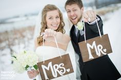Decor Ideas for your Winter Wedding - memory montage photography